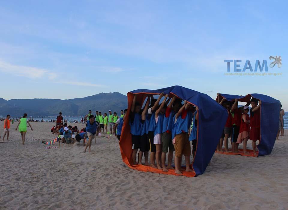 team building bánh xe thần tốc