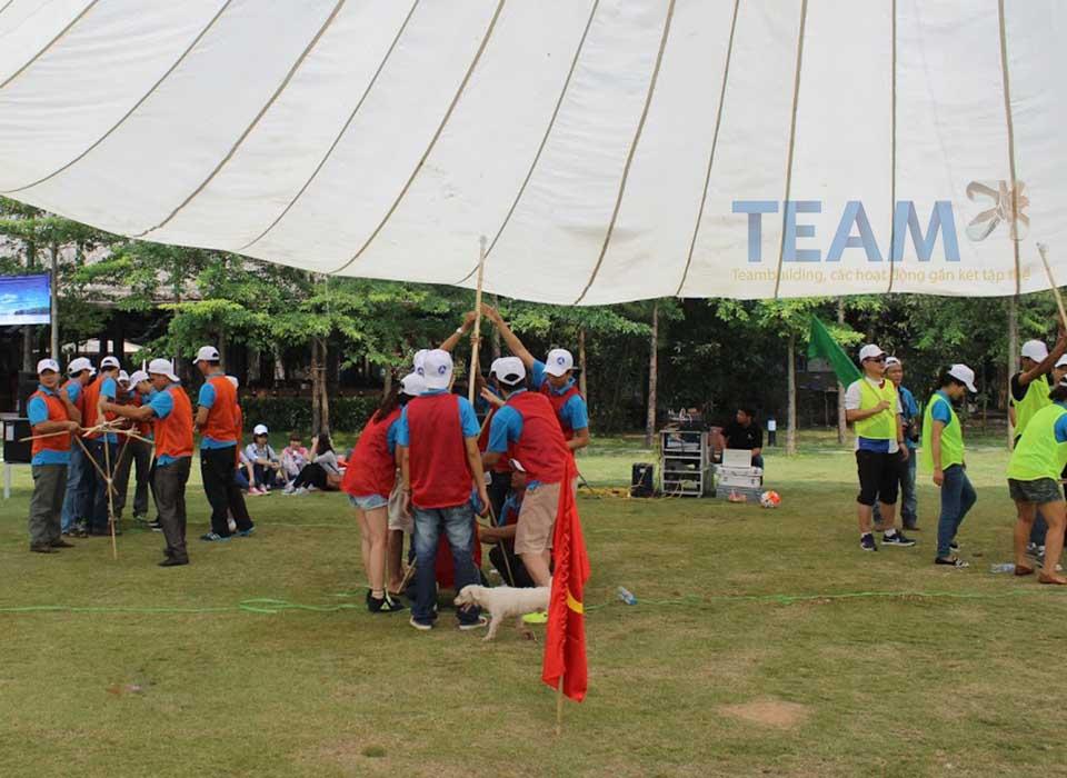 team building đòn bảy nhắm mục tiêu